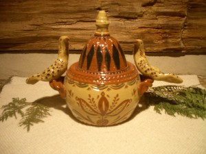two turtle dove sugar pot